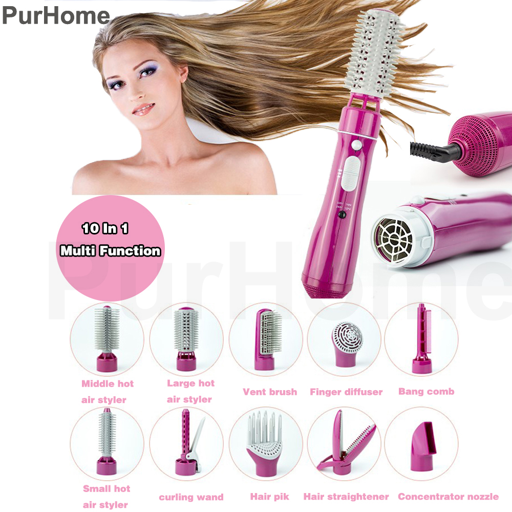 Multifunction Hair Dryer Styling Tools Set Professional