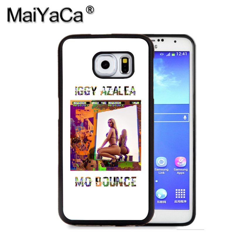 MaiYaCa Iggy Azalea Mo Bounce 1 Phone Case For Samsung S9 S8 Plus S7 S6 Edge Plus Note 8 7 5 S5 S4 Print Rubber Cases