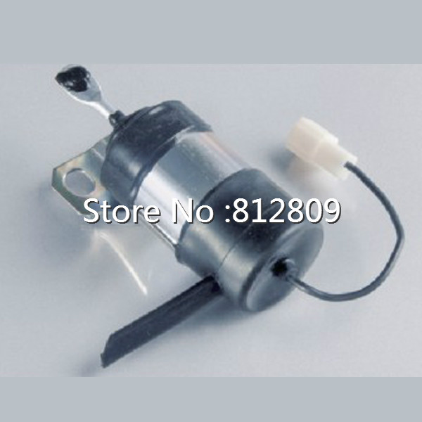 Free Shipping New Fuel Shutdown Solenoid 052600-1001  15471-60010