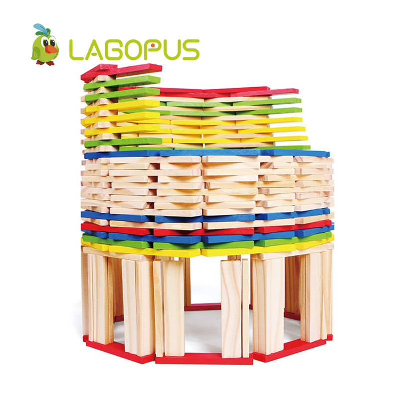 lagopus 260 Pieces of Construction Rods Block Baby Children Early Education Building Toys Wooden Toys For Children provision of primary education for pastoral nomad afar children page 8