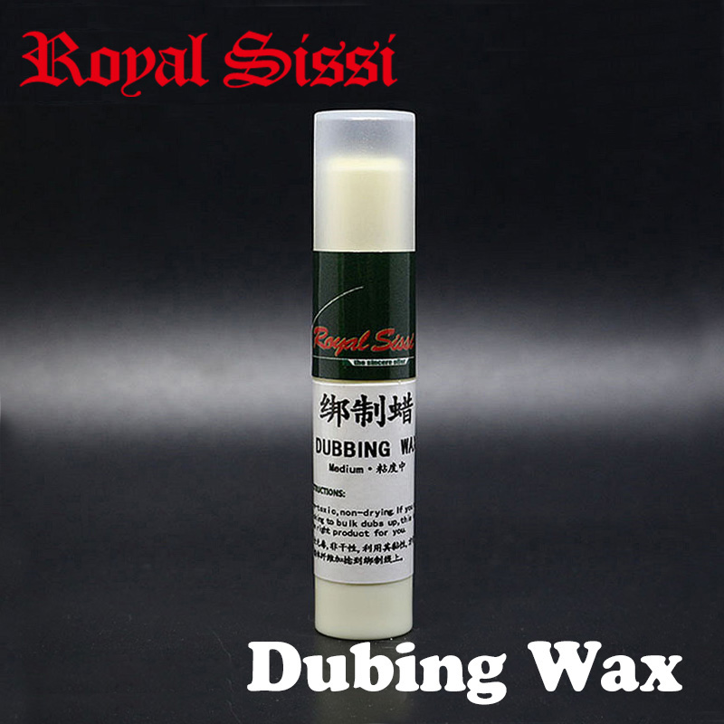 Royal Sissi 2pcs Fly tying Dubbing Wax Medium Tack 4g premium super sticky wax stick nondrying wax added tack fly tying chemical