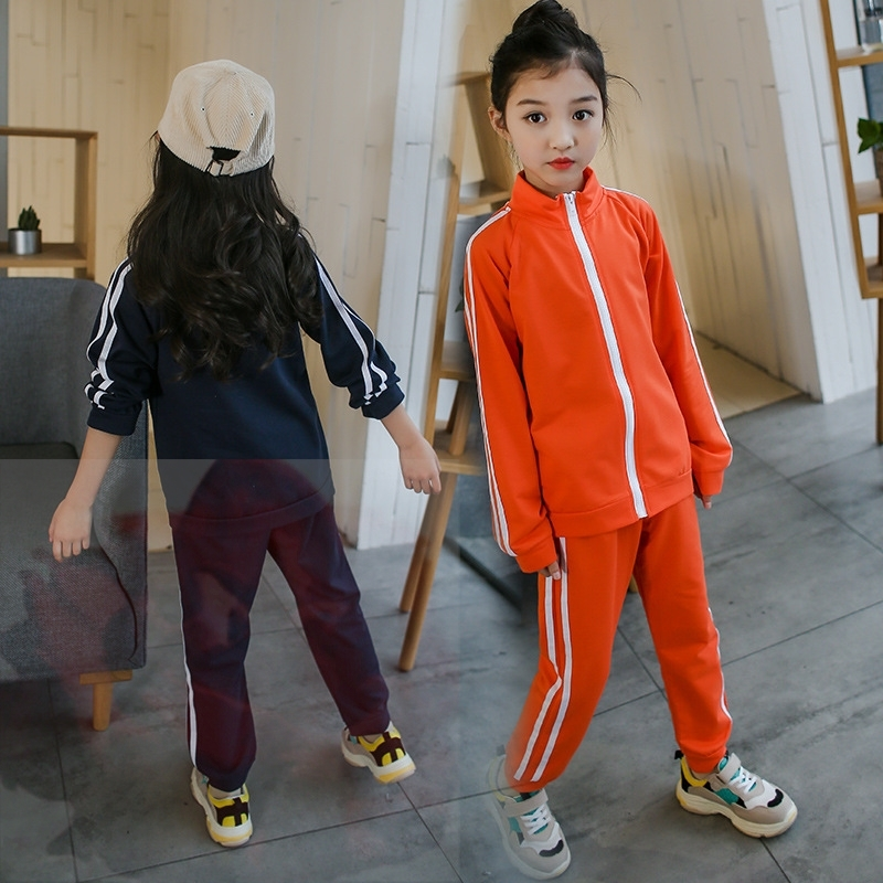 Pant 2pcs Kids Girls Boys Tracksuit Autumn//Spring Outfits Sport Suit Hoodie Top