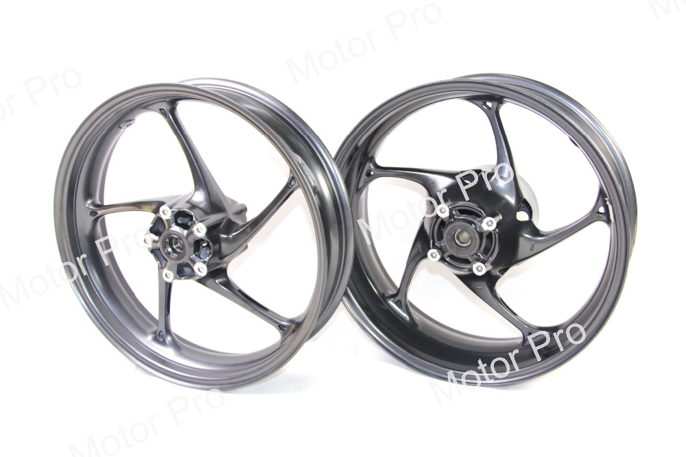 2 Pcs For Triumph Street Triple 675 R 2013 2014 2015 Front Rear Wheel Rim Set