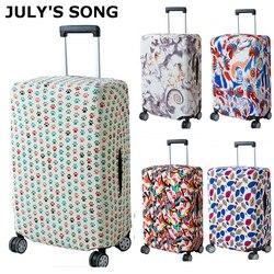 Julysong s canção masculina viagem capa de bagagem moda trole mala proteger saco de pó caso acessórios de viagem suprimentos
