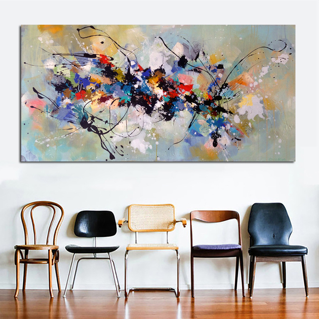 Abstract Living Room Canvas Painting