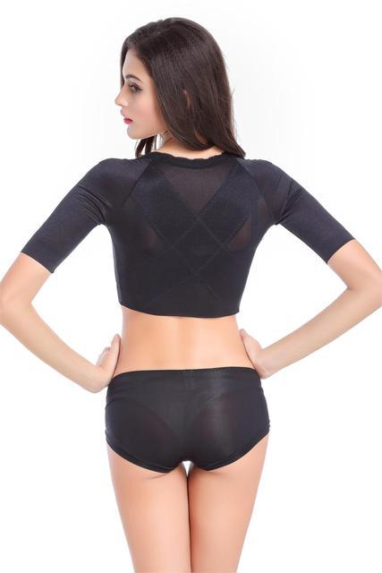 Рука Shaper Вооружить Стройнее Shapewear коррекции горбун Underwear shaper тонкие руки и поднимите грудь женщины shaper топы корсеты