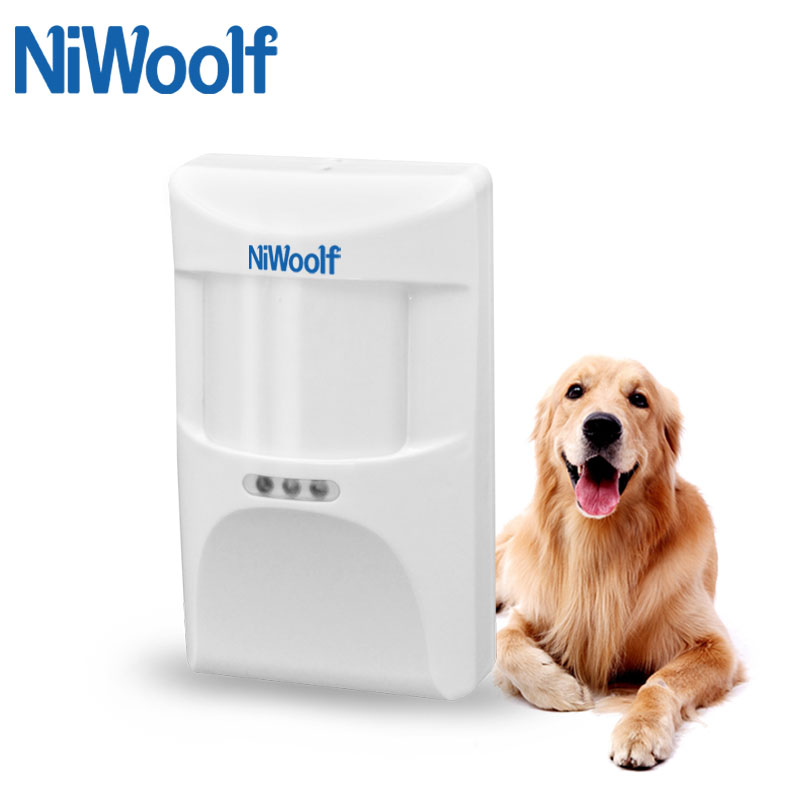 433MHz PET immune PIR Detector  Motion Sensor  Suitable for below 25kg animal  For Wifi/GSM Home Burglar Alarm System|sensor sensor|detector pir|sensor motion - title=