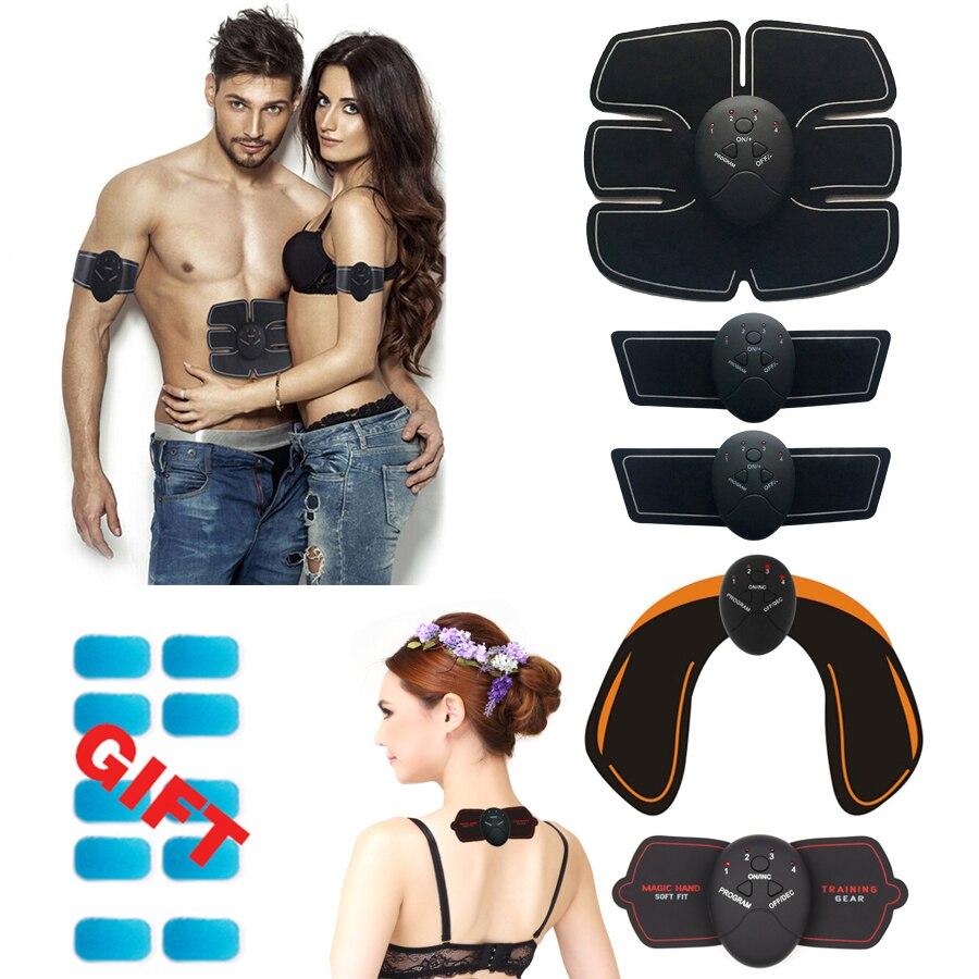 Abdominal Muscle Trainer Training Apparatus EMS Muscle Stimulator Belt Fitness Massager Body Slimming Shaper Machine Fat Burning