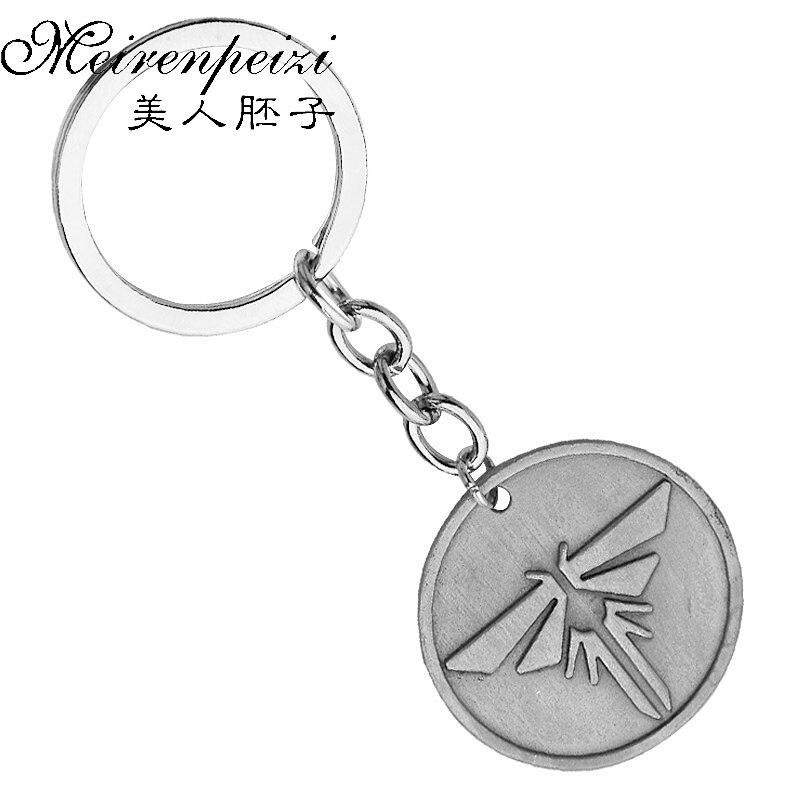1 PC The Last Of Us Key Rings Game Firefly Key Chain Keychain Key Holder For Women Men Car