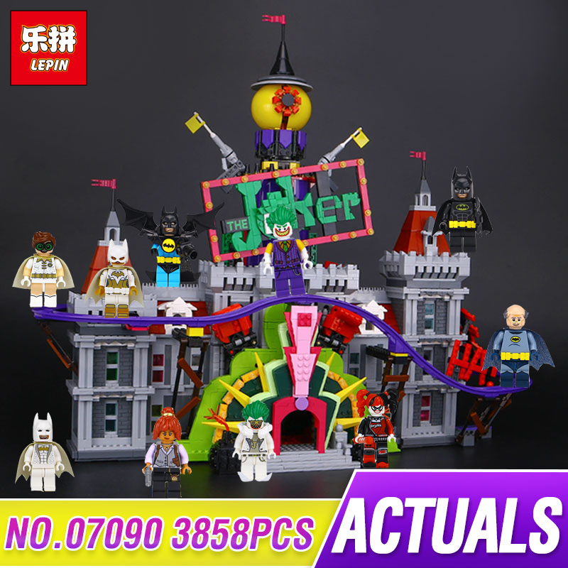 in stock lepin 07090 3857pcs super hero series the joker s. Black Bedroom Furniture Sets. Home Design Ideas