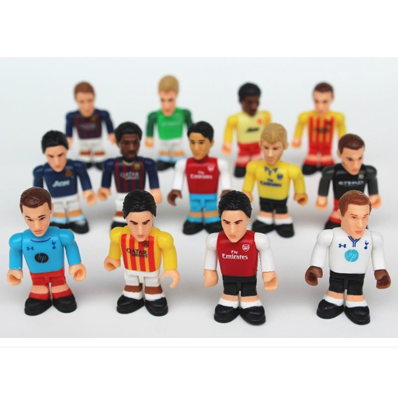 Football Players Toys For Toddlers : Pcs a set football player star cartoon utopia action