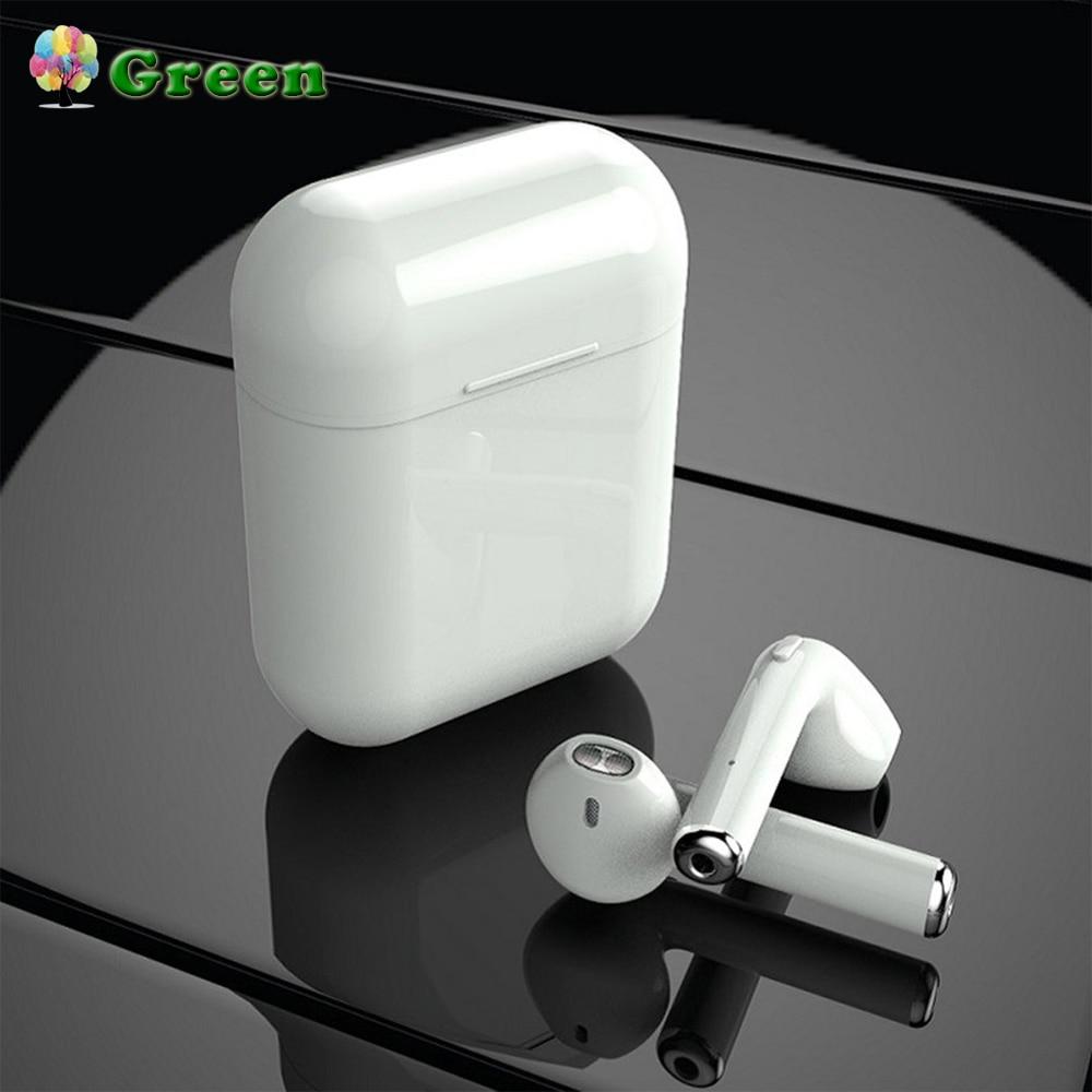 Écouteurs sans fil casque Binaural Bluetooth F10 Binaural 4 heures d'autonomie téléphones intra-auriculaires sans fil blanc cassé