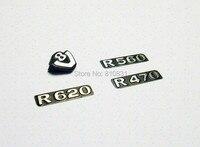 Frente de metal Grelhar SCANIA R470 R560 R620 Logo Set Para 1/14 Tamiya Rc Caminhão Homem