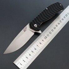 Точечный складной высокопрочный нож для выживания на открытом воздухе для кемпинга D2, Многофункциональный складной нож с ручкой G10, тактический нож