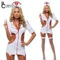 2017 Европа и Америка сексуальное женское белье костюм униформы медсестры ролевая игра косплей костюм хэллоуин костюмы для женщин