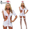2017 Europe and America sexy lingerie suit uniforms nurse role-playing game cosplay costume halloween costumes for women