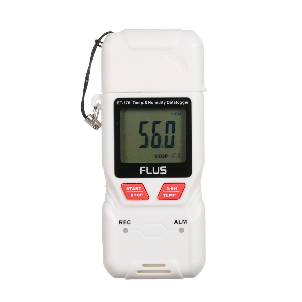High Accuracy Humidity and Temperature Meter USB Data Logger Recorder Thermometer Hygrometer Temperature Humidity Guage LCD sauna accessories stainless steel and plastic temperature and humidity thermometer