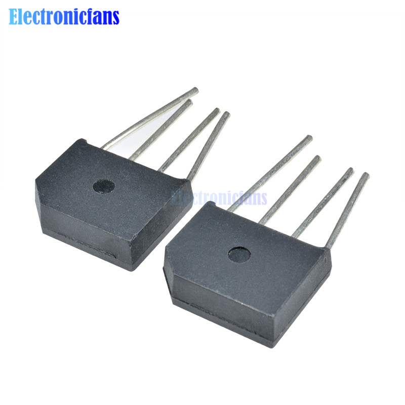 3pcs KBL406 KBL-406 4A 600V Single Phases Diode Rectifier Bridge Single