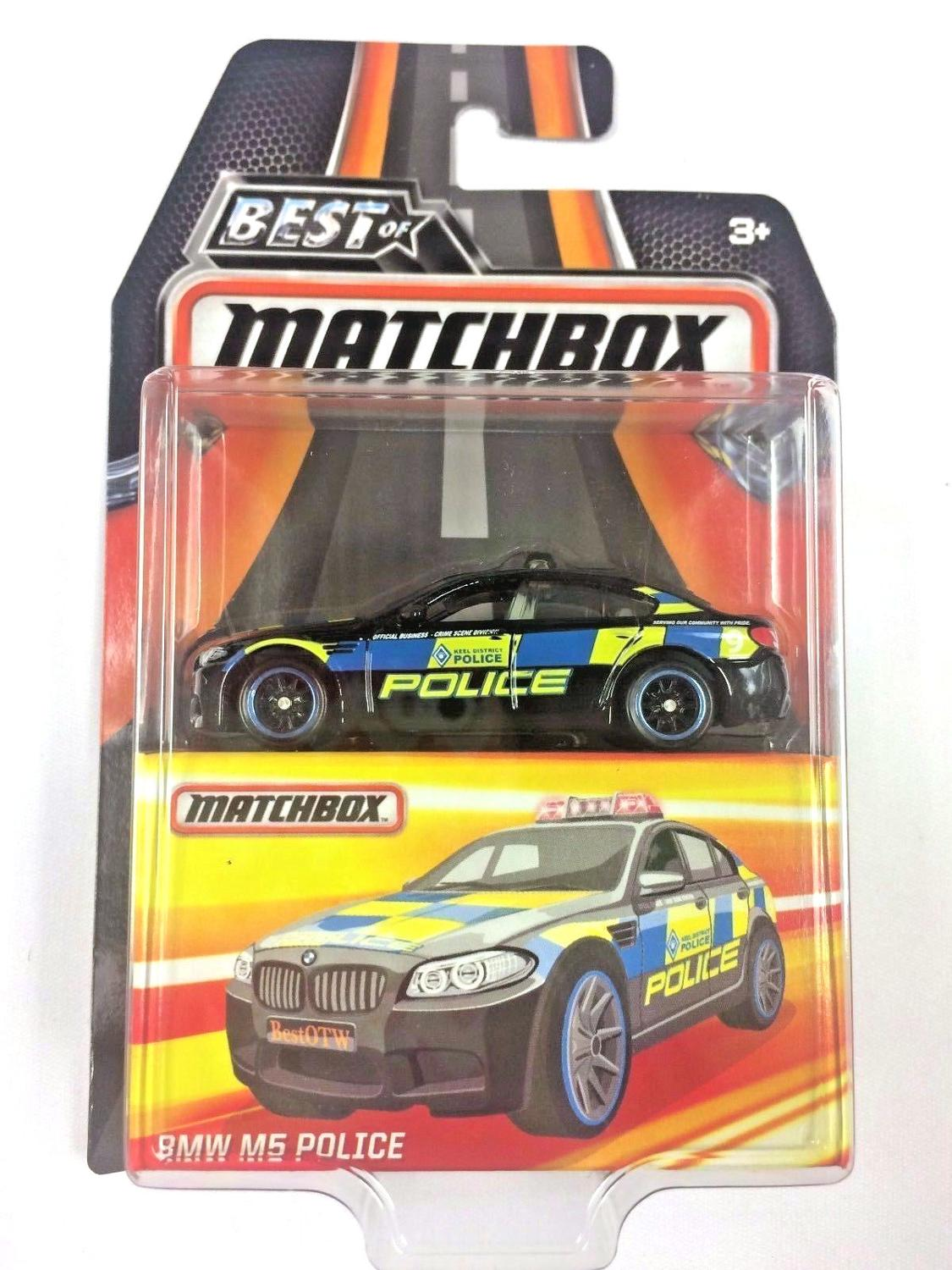 2019 Matchbox Car 1:64 Sports Car B.M.W M5 POLICE Collector Edition BEST OF Metal Diecast Model Car Kids Toys Gift