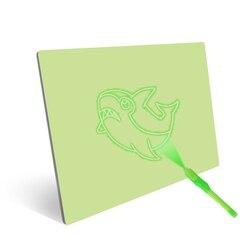 Crianças A3 A4 LEVOU Rastreamento Luz Placa Desenho Pad Mesa Stencil YH-17 Desenhar com Luz No Escuro
