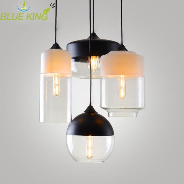 Modern Contemporary Hanging Glass Pendant Lamp Lights Fixtures E27