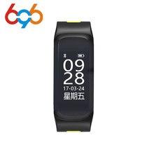 696 F4 Pulseira De Fitness Inteligente IP68 à prova d' água a Pressão Arterial de Oxigênio No Sangue Monitor de Freqüência Cardíaca banda Inteligente Para IOS/Android