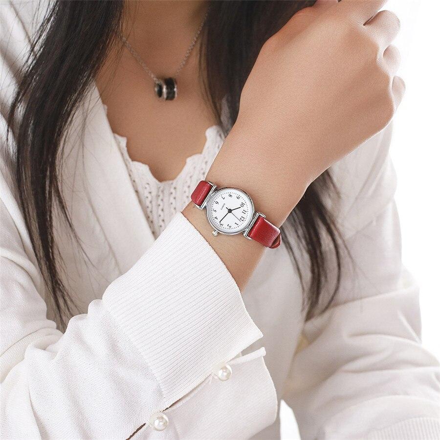 Vansvar Fashion Jelly Thin Leather Women Watches Luxury Brand Casual Ladies Quartz Clock Wristwatches Clock Montre Femme 533