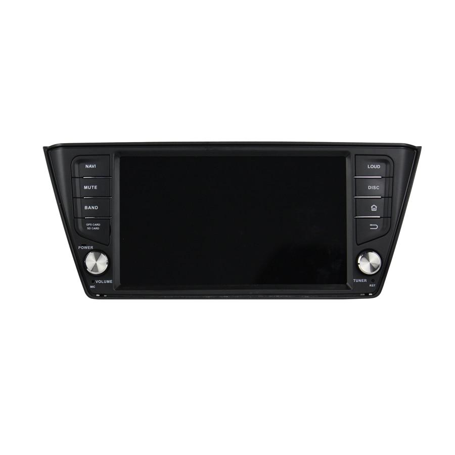 ELANMEY premium car gps navigation For skoda Fabia 2015 2017 octa core android 8.0 CAR DVD player multimedia radio stereo HU