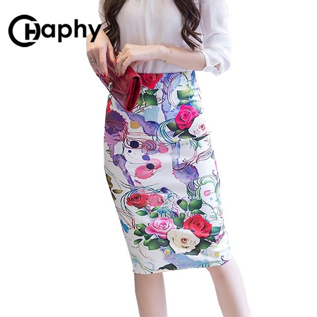 Aliexpress.com : Buy High Waist Bodycon Office Pencil Skirt 2017 ...