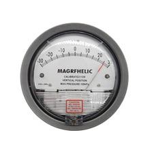 Профессиональный Цифровой Аналоговый дифференциальный манометр +/-1000 pa отрицательное давление метр Манометр газа промышленности