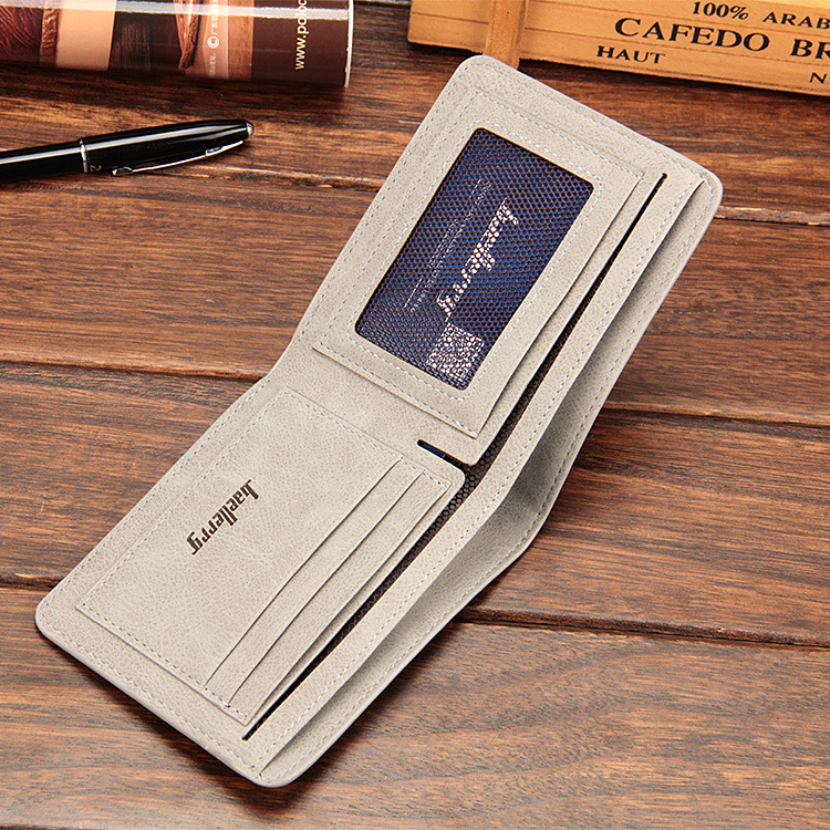 Baellerry 17 men wallets mens wallet small money purses Wallets New Design Dollar Price Male Wallet Purse with zipper Coin Bag 16
