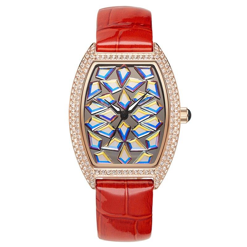 2018 nouveau classique complet diamant montre femme Quartz montre Top marque de luxe dames mode montres étanche Rose or femme horloge