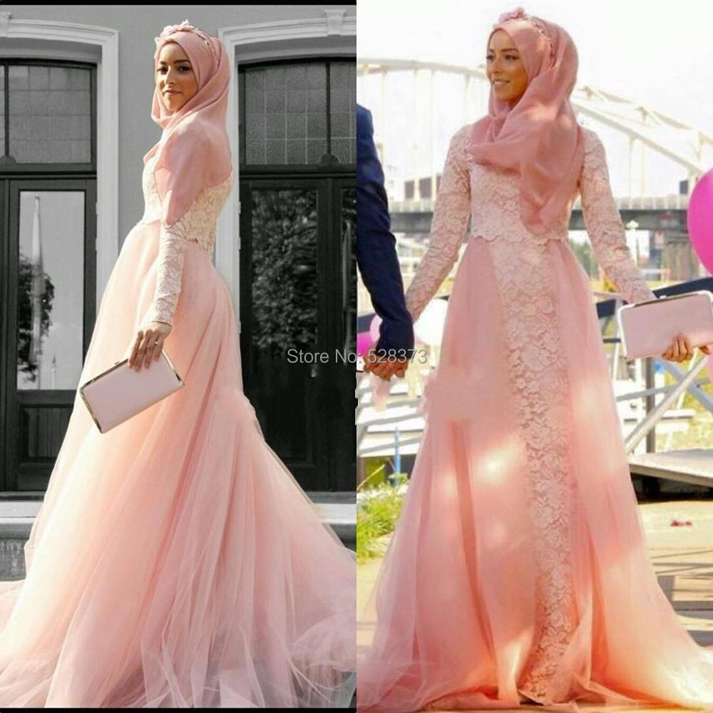 YNQNFS ED12 With Hijab Lace And Tulle Mermaid Simple