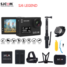 100% Original SJCAM SJ6 LEGEND 2.0″ Touch Screen 4K Novatek 96660 Remote 30M Waterproof Diving Sports Action Camera Mini DV