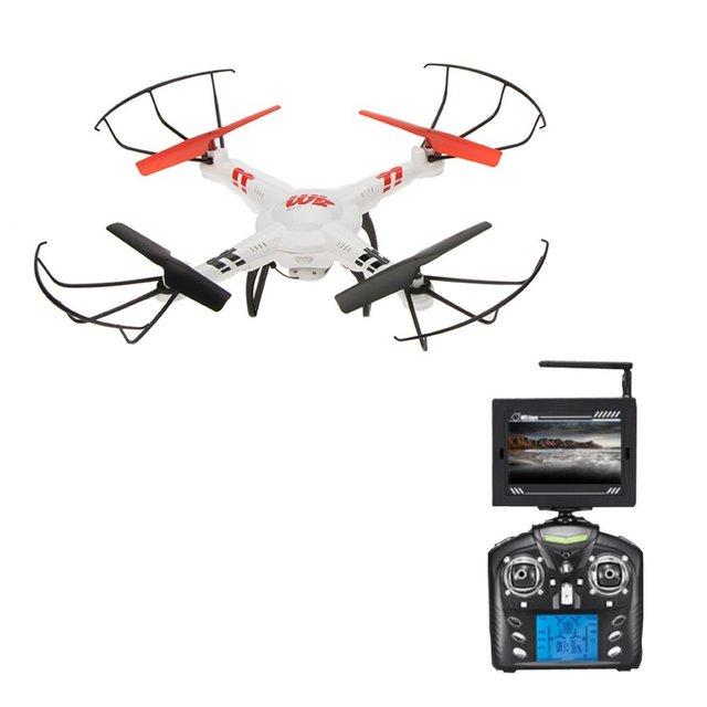 WLToys V686G DV686 DV686G FPV RC Quadcopter Drone Con Cámara Modo Sin Cabeza 2.4G 4CH 5.8G FPV RC Helicóptero Quadcopter Juguete