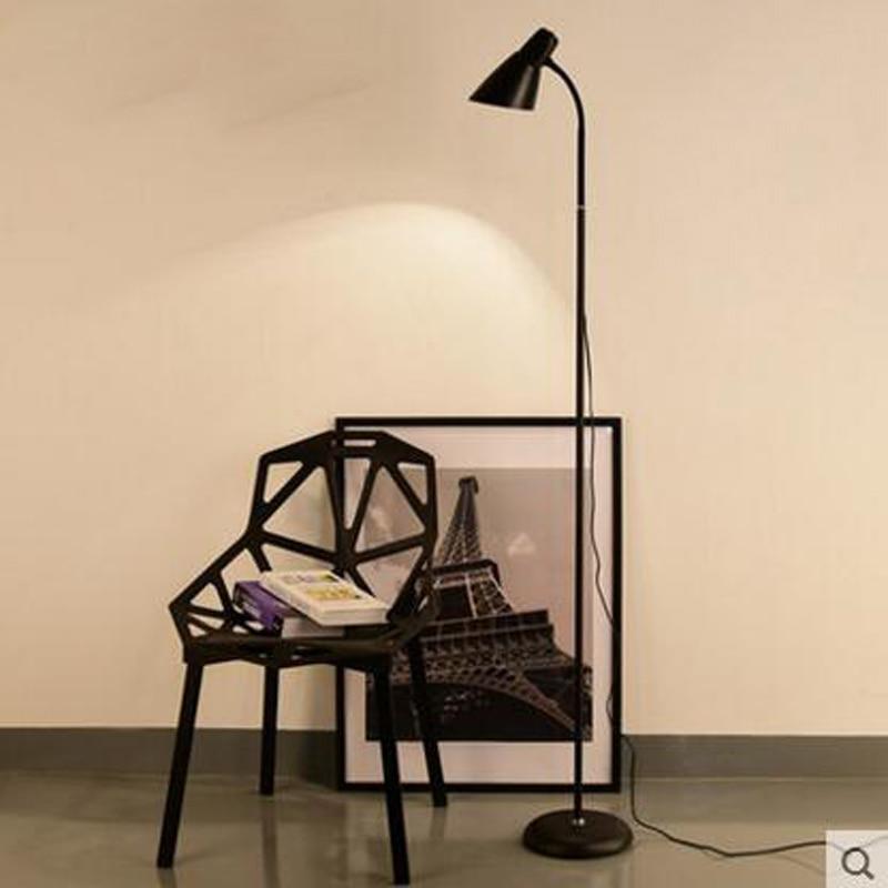 Nordic floor lamp simple modern living room sofa floor lamp bedroom ...