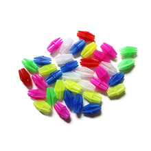 36 Pcs Bicycle Wheel Spoke Colorful Plastic Bead Multi-color Children Clip Decoration Bicycle Cycling Accessories(China)