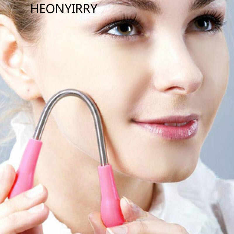 2017 Face Hair Removal Device Threading Facial Micro Spring Female Epilator Depilation Shaving Hair Remover Beauty Makeup Tool