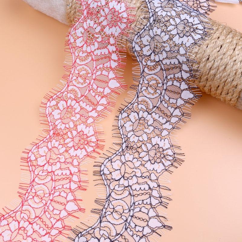 NBHB кружевная ткань 16,6 см ширина эластичная кружевная отделка ленты
