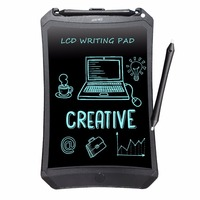 NEWYES 8 5 Chrismas Kids Gifts Lovely Black Robot Pad EWriter Electronic Kids Drawing Board Doodle