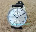 Silvery white dial 43mm PARNIS power reserve  Automatic Self-Wind men's watch Luxury Mechanical watches a2