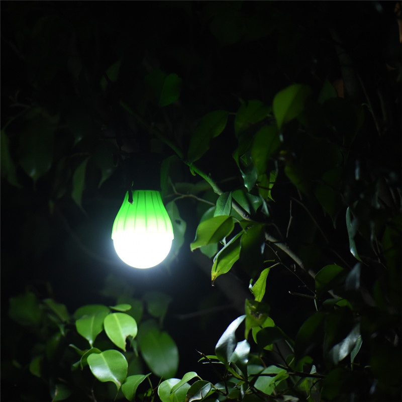 Symbol Of The Brand Portable Outdoor Hanging 3led Camping Lantern Soft Light Led Camp Lights Bulb Lamp For Camping Tent Fishing 4 Colors Aaa Battery Big Clearance Sale Portable Lighting Portable Lanterns