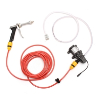 12V 65W High Pressure Marine Deck Car Washer Wash Water Pump Cleaner Sprayer Kit 4.0L/min Vehicle Cleaning Equipment