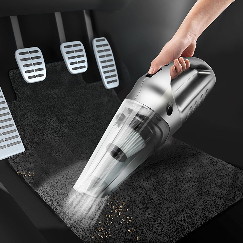 Mini Multifunction Portable Auto Handheld Wireless Charging Vacuum Cleaner Cleaning Machine for Car