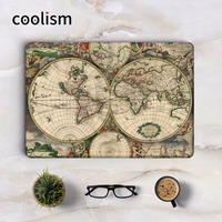 Middle Ages World Map Laptop Sticker For Apple Macbook Decal Air Pro Retina 11 12 13