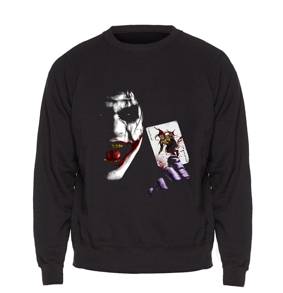 Joker Heath Ledger Hoodie Men Hip Hop Sweatshirt Slim Fit Sweatshirts Mens 2018 Winter Autumn Fleece Warm Funny Punk Sportswear
