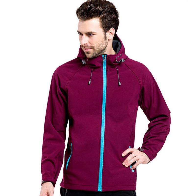 IEMUH Outdoor Soft Shell Fleece Jacket Ерлер Polartec - Спорттық киім мен керек-жарақтар - фото 3