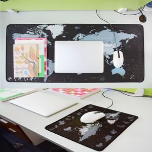 Image 5 - ゲーミングマウスパッド大マウスパッドゲーミングマウスパッドゲーマービッグマウスマットコンピュータマウスパッドゴム世界地図モウズパッドゲームキーボードデスクマット