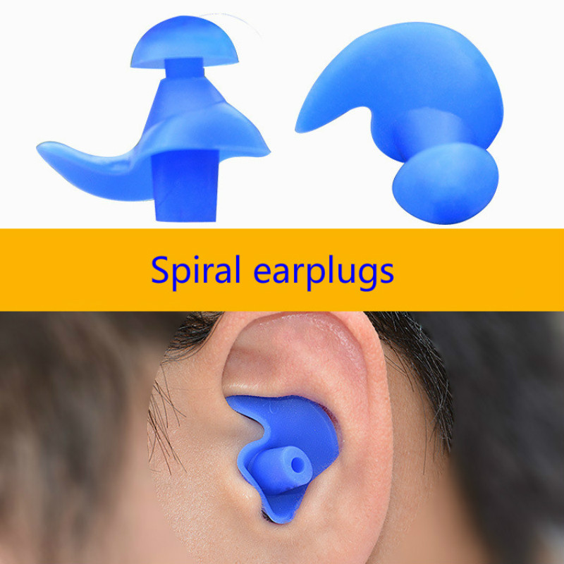 1 Pair Soft Ear Plugs Environmental Silicone Waterproof Dust-Proof Earplugs Diving Water Sports Swimming Accessories