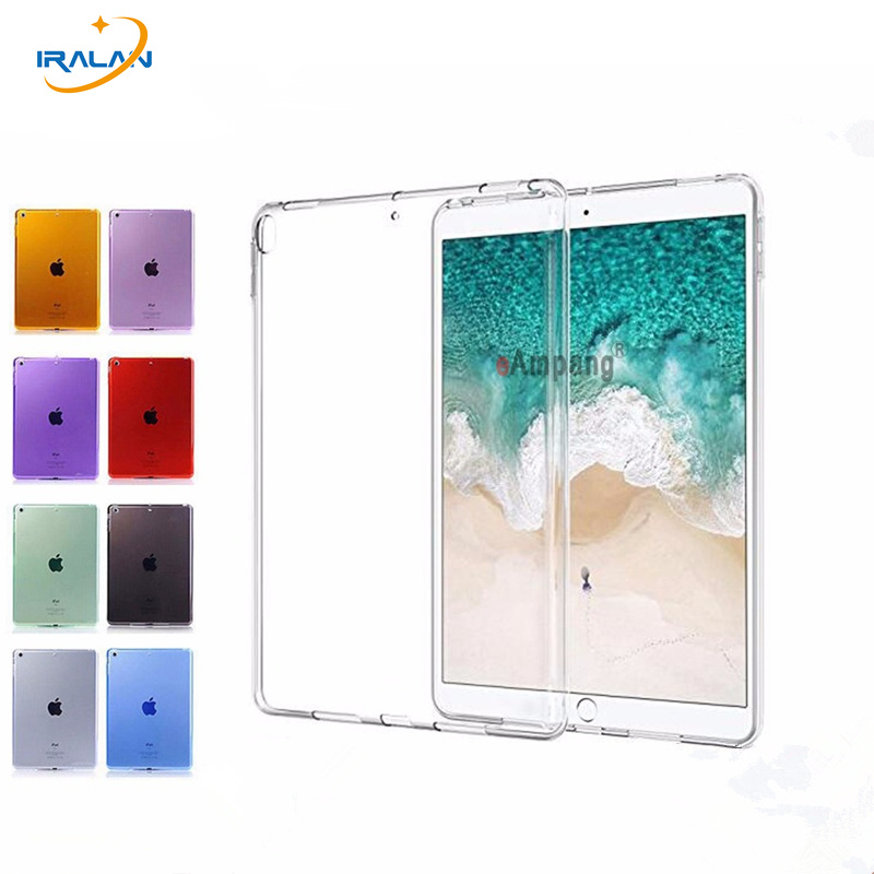 Tablet Case For Apple 2017 new iPad Pro 10.5 Soft TPU Crystal Transparent Silicone Protect Back Cover For iPad Pro 10.5 2017+pen redlai for ipad pro 9 7 tpu soft crystal